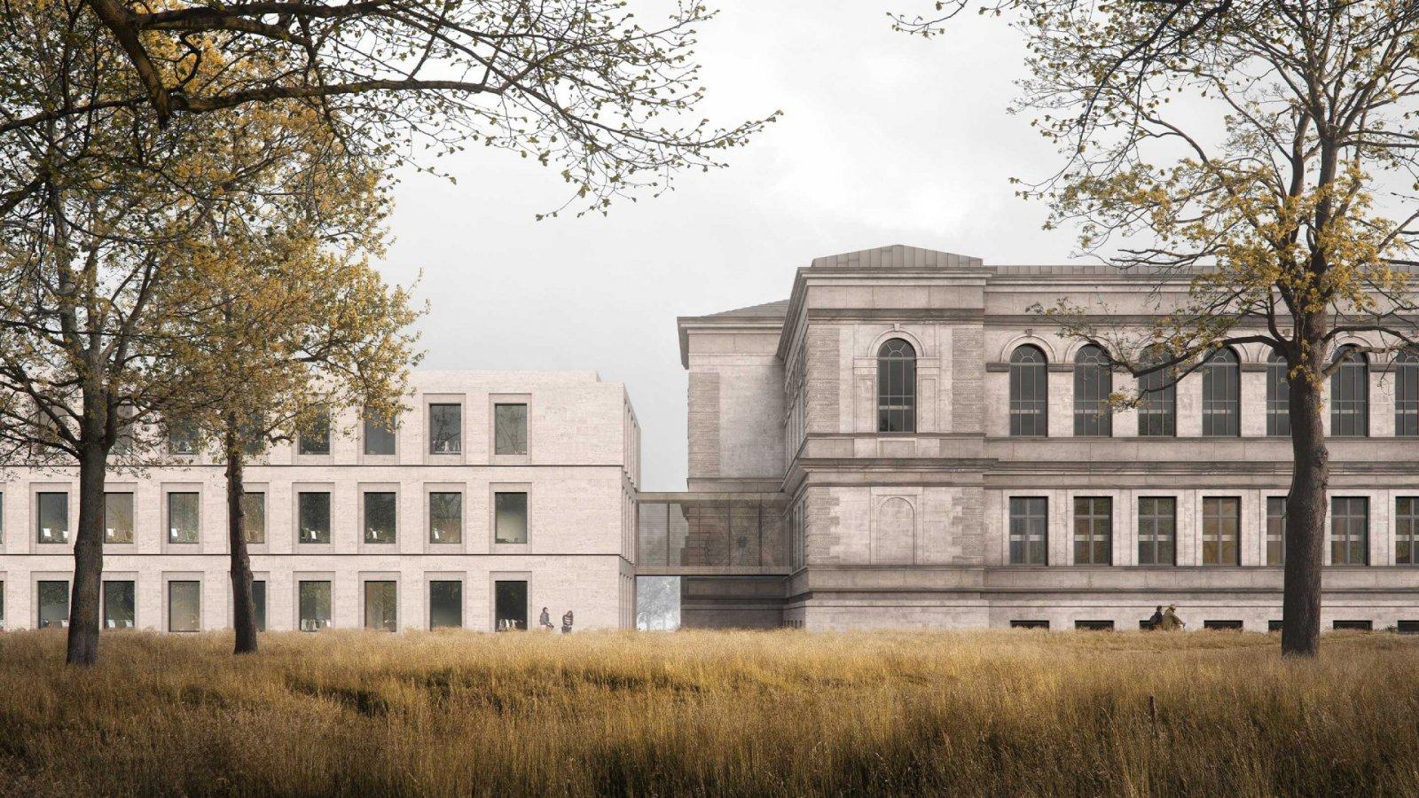 Herzog August Bibliothek, Servicegebäude